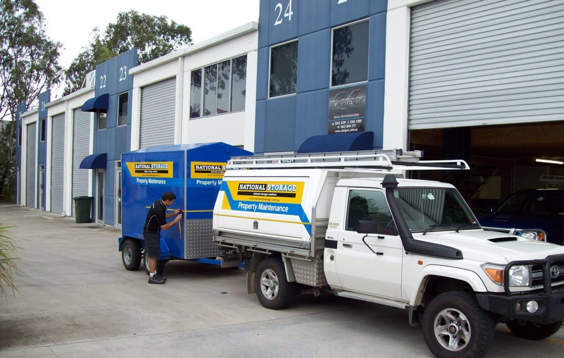 Property Maintenance trucks